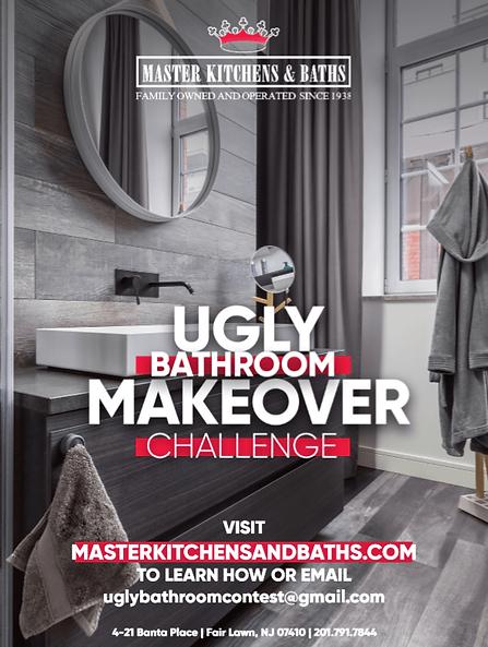 Master Kitchens & Baths Ugly Bathroom Makeover Challenge