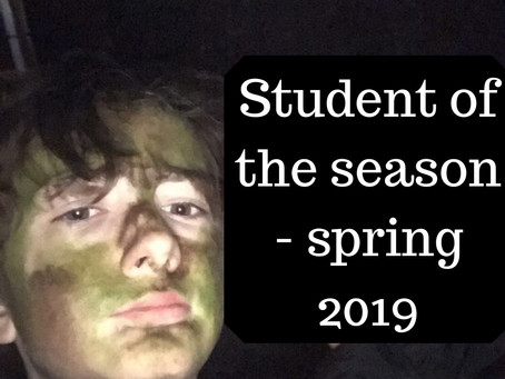 Student of the Season - Spring 2019
