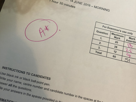 A*s for top student