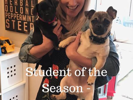 Student of the Season - Winter 2019