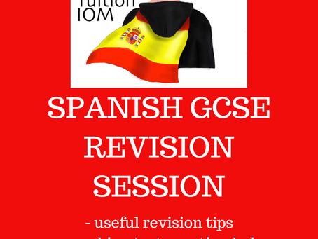 Half Term Revision Session - GCSE