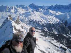 Ski Touring in Morillon