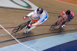 Phil semi World sprint 2015 against Brian
