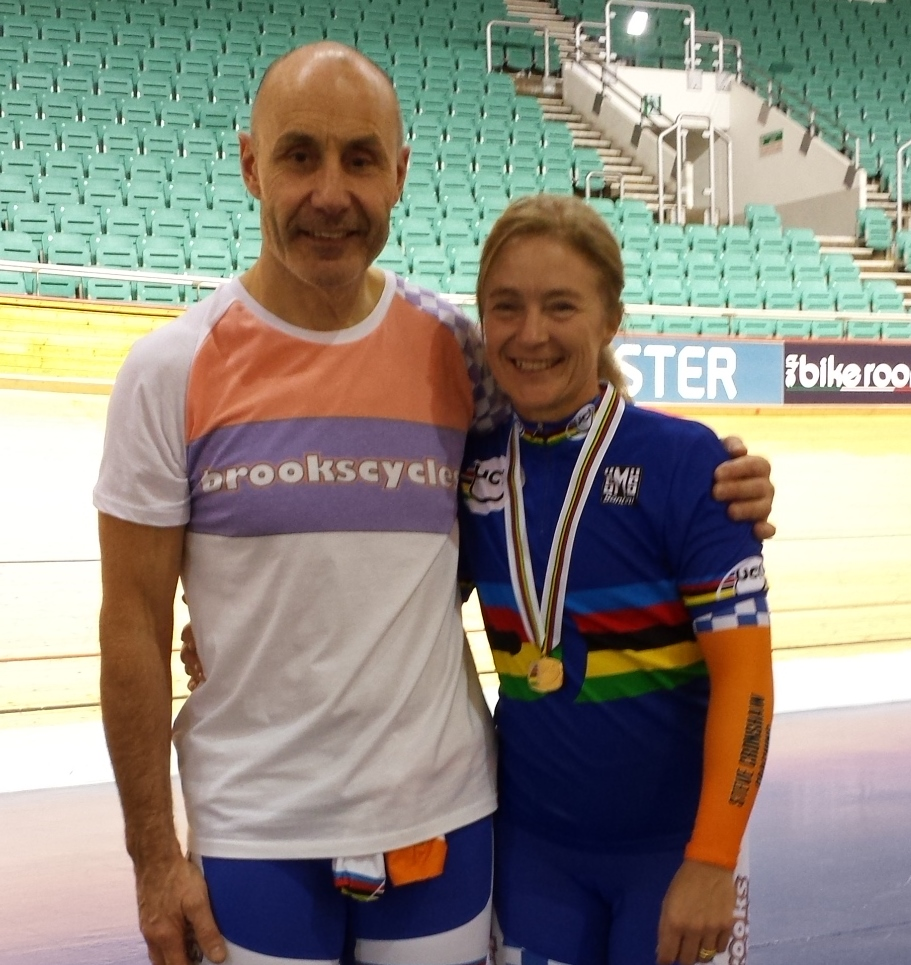 Debbie and Me World Masters 2015 (Deb in