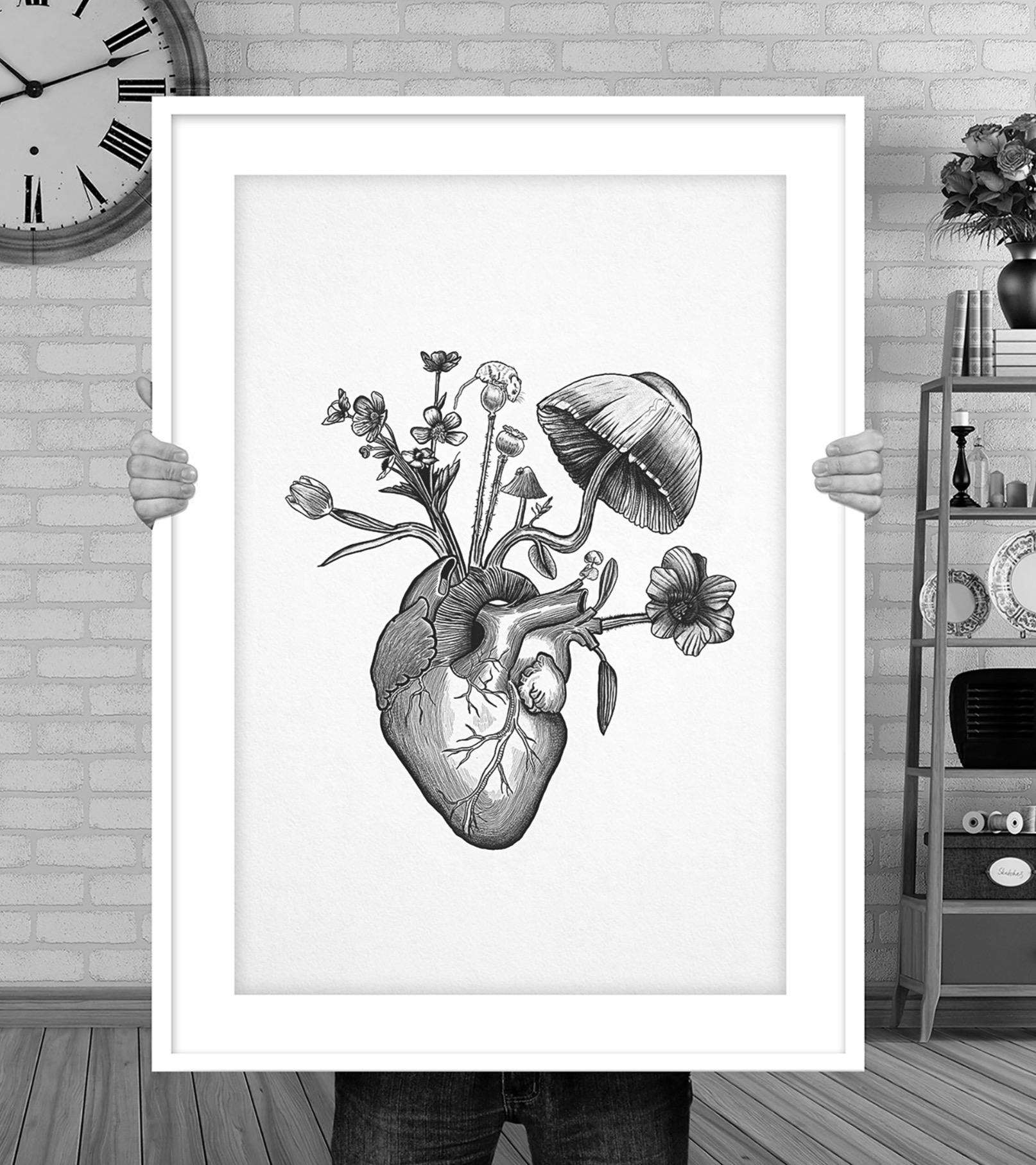 Like Flowers My Heart Grows