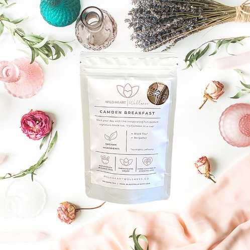 'CAMDEN BREAKFAST' Organic Loose Leaf Tea 40g
