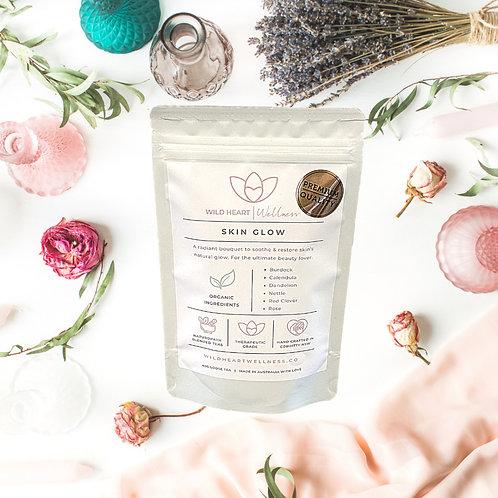 'SKIN GLOW' Organic Loose Leaf Tea 40g