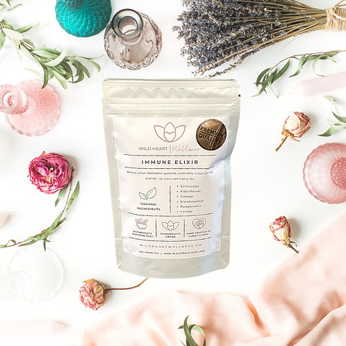 'IMMUNE ELIXIR' Organic Loose Leaf Tea 40g