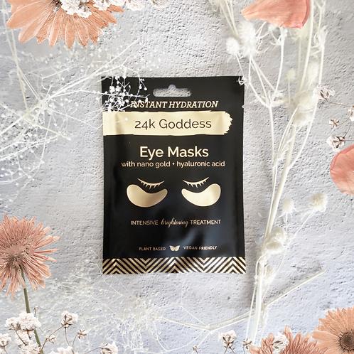 24K Goddess Gold Eye Masks (1 pair)