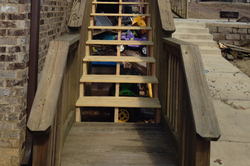 deck stair replacement