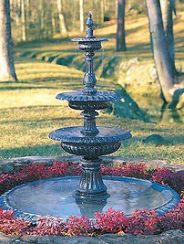 Decoratve Fountains and Decorative Bird Baths
