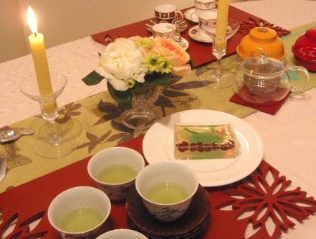 初夏を彩るジャパニーズティーテーブル