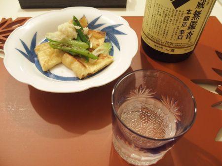 今日も日本酒で乾杯