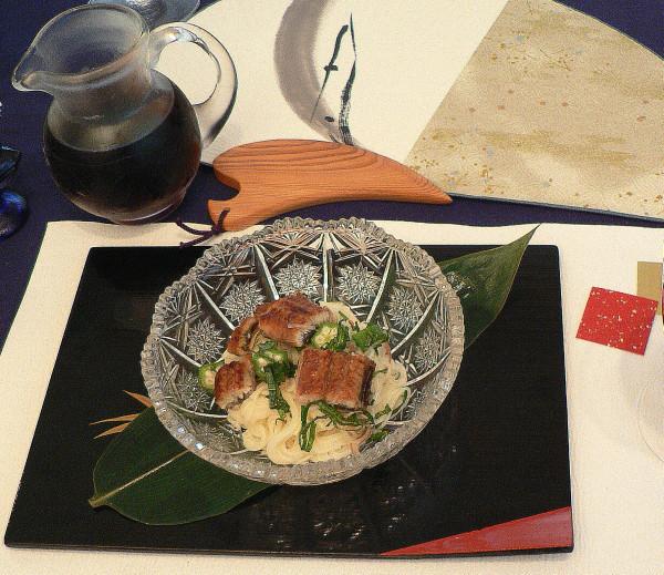 土用丑の日 うな素麺