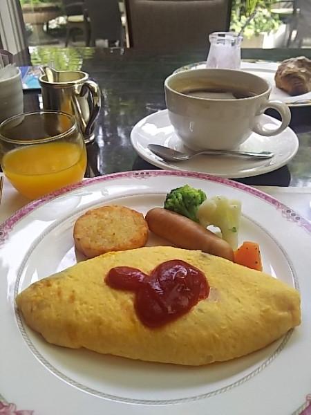ウエスティンホテル 朝食バイキング