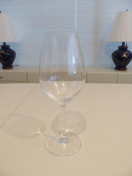 ツヴィーゼルのワイングラス