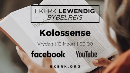 Bybelskool | Kolossense. Deel 7 [video]