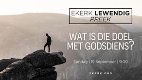 Wat is die doel met Godsdiens? [video]
