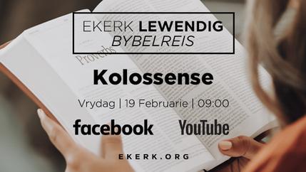 Bybelreis | Kolossense. Deel 4 [video]
