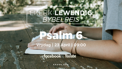 Bybelskool | Psalm 6 [video]