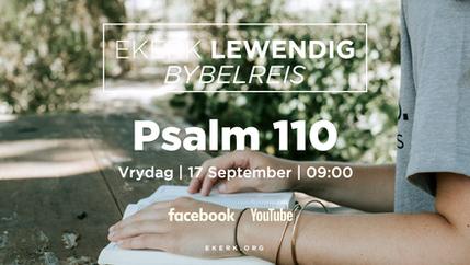 Bybelskool Psalm 110 [video]