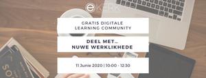 Registreer nou vir ons gratis aanlyn Learning Community 11 Junie 2020.
