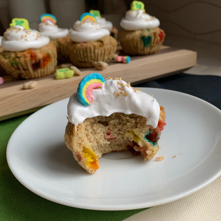 Lucky Cupcakes with Marshmallow Frosting