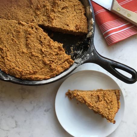 Sweet Potato Skillet Bread