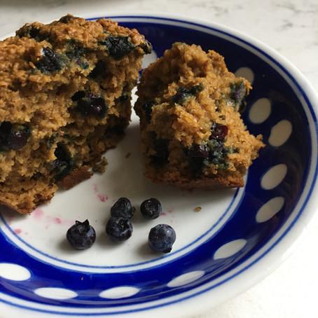 Yankee Blueberry Muffins