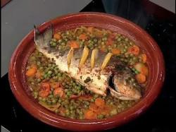Tajin de pescado del día