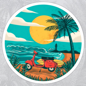 Vespa stickers