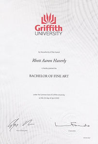 Rhett Haverly Bachelor of Fine Art