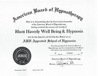 ABH Approved School of Hypnosis