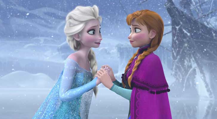 """Love is putting someone else before yourself"" – Olaf, Frozen'"