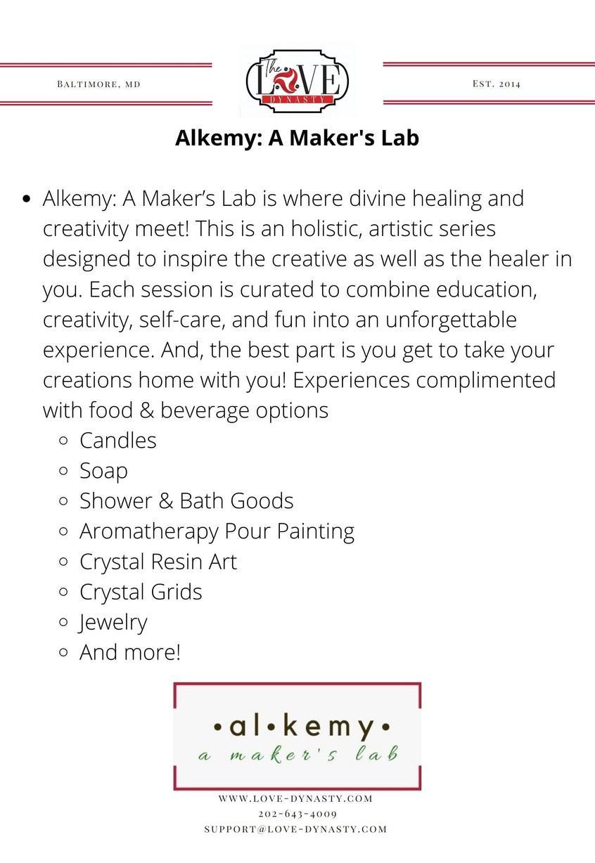 Alkemy: A Maker's Lab