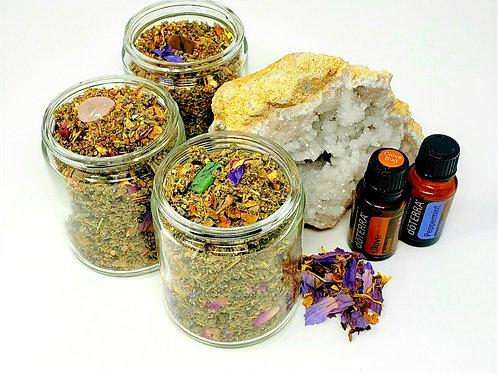 Essential Oil Infused Herbal Libations