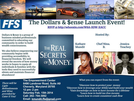 Dollars & $ense: The Financial Empowerment Group