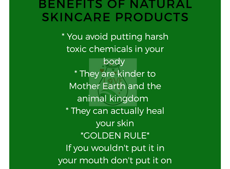 """The """"Dirty Dozen"""" in Beauty and Personal Care Products. Love your body, go natural!"""