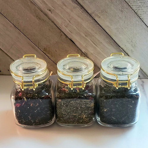 Essential Oil Infused Herbal Tea Sampler Set