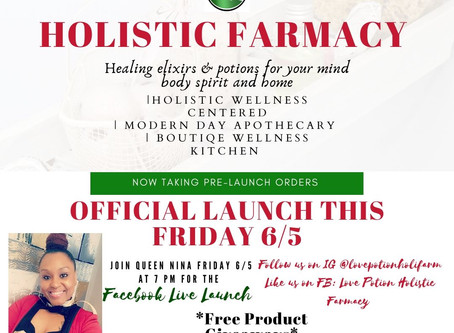 The Farmacy is now Open! Officially launching this Friday June 5th!