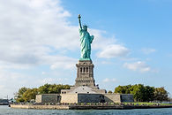 The Statue of Liberty in New York City.j