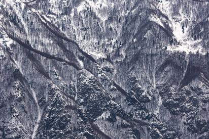 Neve sui monti