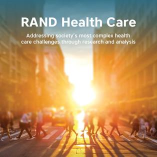 RAND Health Care brochure