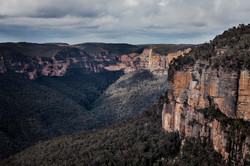 Govetts Leap to Perrys Lookdown, NSW