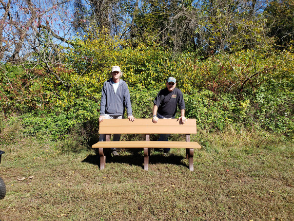 We are happy to announce the benches from our GoFundMe campaign were built!