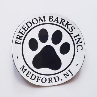 Freedom Barks Magnet