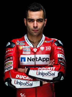 Danilo Petrucci เปิดตัวหมวกกันน็อคลายใหม่