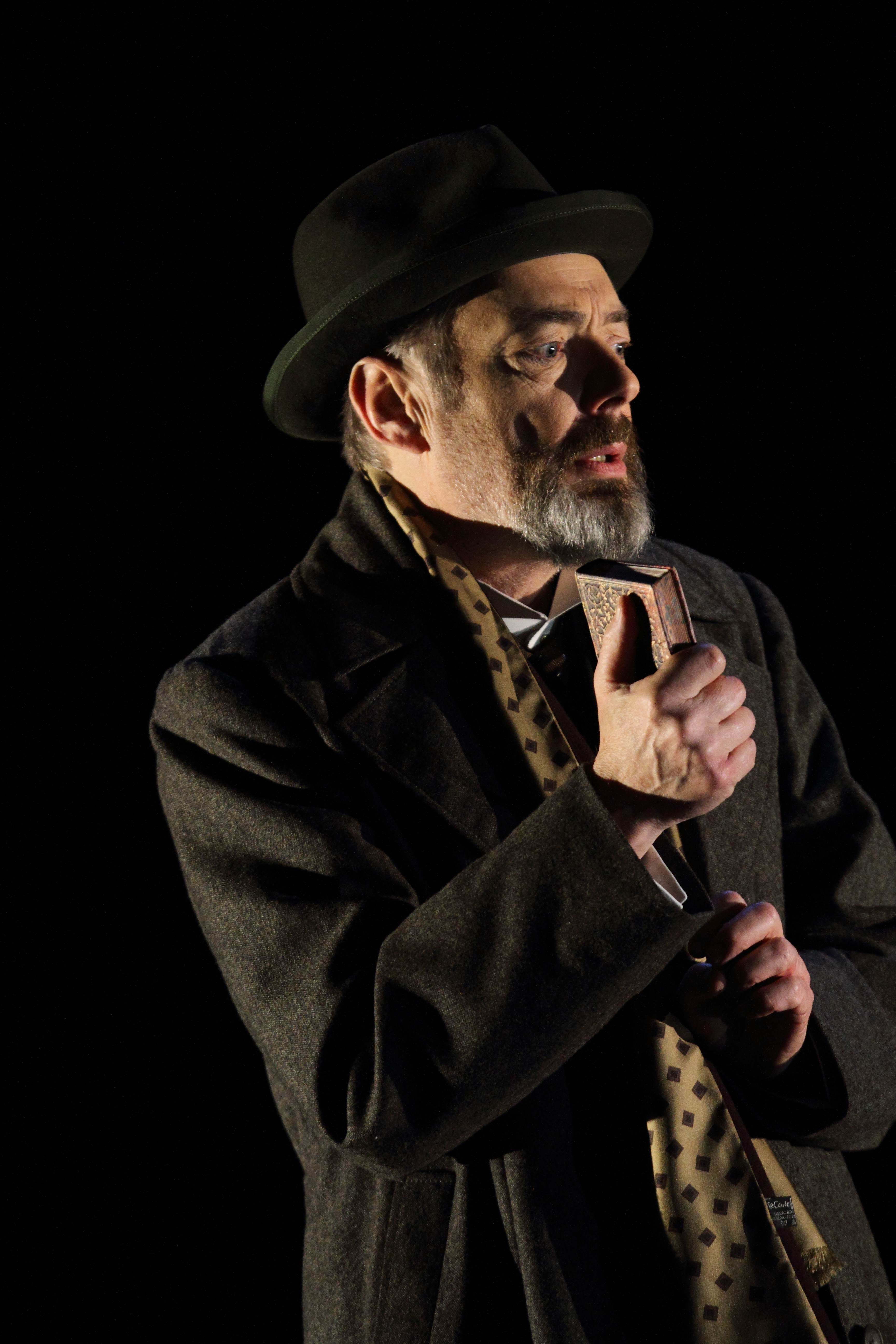 k Padmore as Aschenbach in Death
