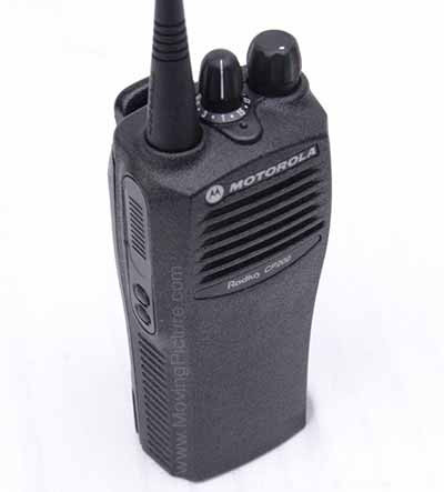 motorola cp200. the motorola cp200 is industry standard when it comes to communication between your crew. brkommunications has their own fcc licensed frequency, cp200 0