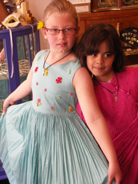 Pink & BLue Girls